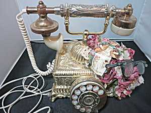 Evertone French Phone Rotary Desk Style Princess