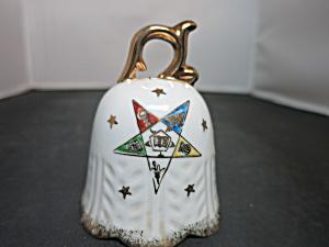 Vintage Eastern Star China Bell Fraternal Memorabilia  (Image1)