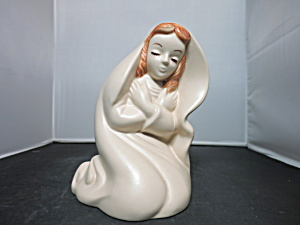 Hull Virgin Mary Madonna Planter 1960s number 25 (Image1)