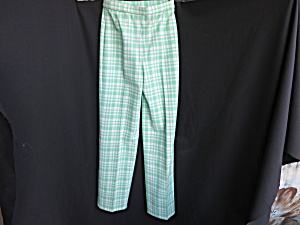 Bleyle For Hooper Vintage Checkered Pants Size 8