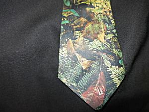 Vintage Mens Silk Tie Hand Made Connie Lane Original (Image1)
