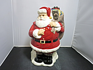 Classic Santa Cookie Jar Marketed By Walmart 1990s