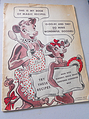 Elsie the Cow Book, Magic Recipes, 1942 (Image1)