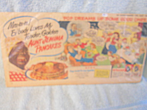 Aunt Jemima Pancakes Advertising Comics (Image1)