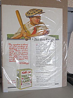 Advertising Kellogg's Corn Flakes, 1919 (Image1)