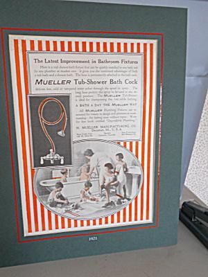 H. Mueller Co. Bathroom Fixtures Advertising (Image1)