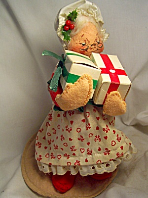 Annalee Doll Mrs. Santa Claus 1989 With Tag