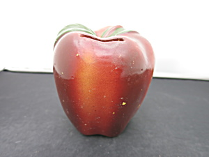 Vintage Red Apple Bank