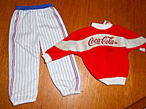 Barbie Doll Coca Cola Shirt and Pants (Image1)