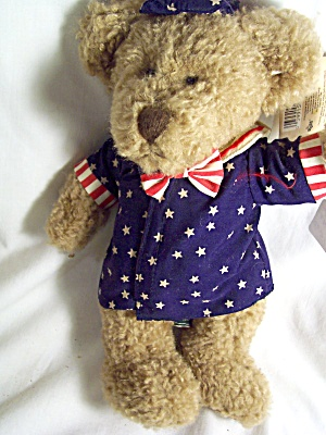 Russ George Teddy Bear Ode To America