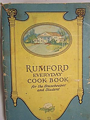 Rumford Everyday Cook Book., 1940's (Image1)