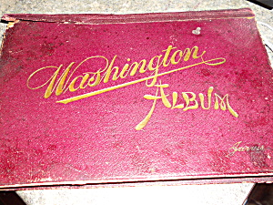 Washington D.c. Photo Album 1890