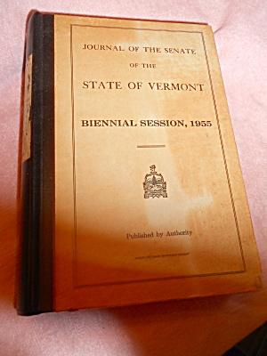 Journal Vermont Senate 1955 (Image1)