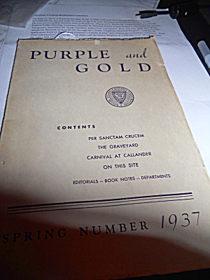 St. Michael's College Book Spring 1937 (Image1)