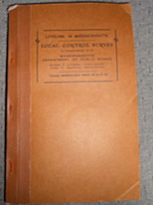 Federal Emergency Relief Project 1935 Book