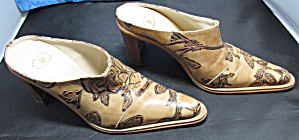 Cuoieria Fiorentina Italy Leather Shoe Heel