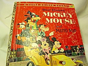 Walt Disneys Mickey Mouse and Pluto Pup A Little Golden Book 1953 (Image1)