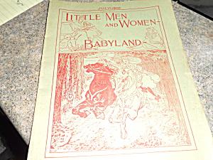 Little Men and Women Book 1900 (Image1)