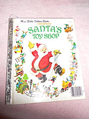 Santa's Toy Shop Book Disney 1950 (Image1)