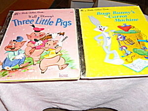 Three Little Pigs and Bugs Bunny Books  (Image1)