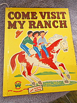 Come Visit My Ranch Book 1950 (Image1)