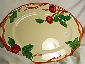 Franciscan China Apple Pattern Platter