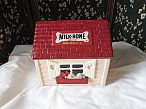 Milk Bone Dog Treats House Cookie Jar Roman (Image1)