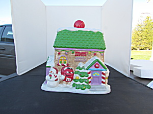 M & M Candy Shoppe Cookie Jar 1999 House