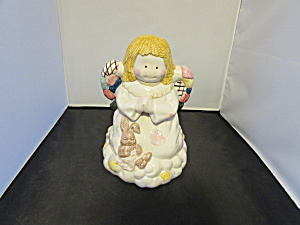 Angel On Cloud Cookie Jar Christmas Around The World