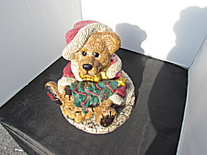 Boyds Grenville The Santa Bear Cookie Jar 1998