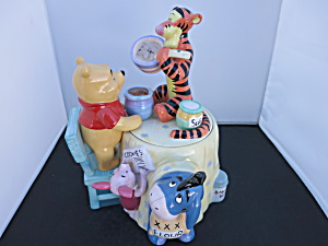 Disney Cookie Jars >> Disney Cookie Jar Pooh Eeeyore Piglet And Tigger
