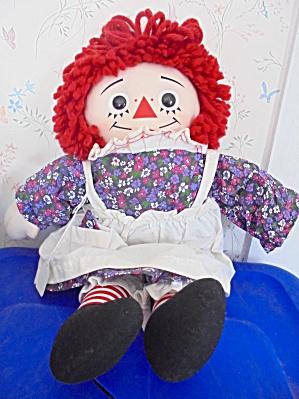 Raggedy Ann Doll 20 Inch Dakin Pull String (Image1)