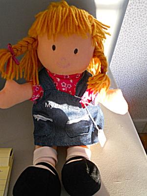 My First Doll Original Stuffed Plush Doll (Image1)