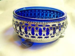 Cobalt Blue Glass Condiment Dish (Image1)