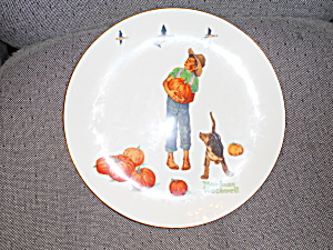 Norman Rockwell Plate Pilgrimage 1977