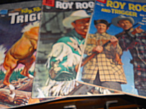 Roy Rogers And Trigger Comics Trio, 1950's