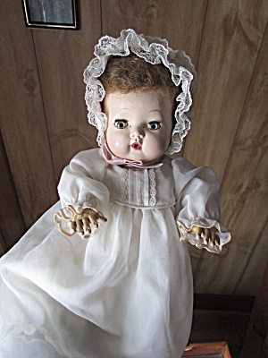 American Character Tiny Tears Doll 13 Inch Hard Plastic