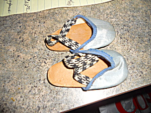 Vintage Doll Slippers or Shoes number six (Image1)