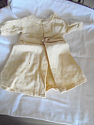 Antique Wool Doll Coat Ivory Hand Made (Image1)