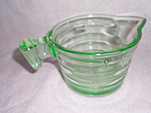 Depression Glass Measuring Cup Ounces Pint