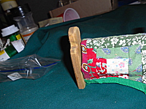 Dollhouse Quilt Rack and Quilt Wood Cloth (Image1)