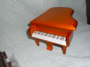 Doll House Wood Grand Piano