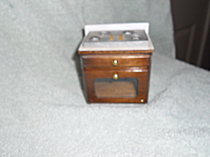 Dollhouse Kitchen Stove Made Of Wood