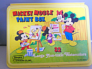 Disney Mickey Mouse Paint Set Straco Strauss