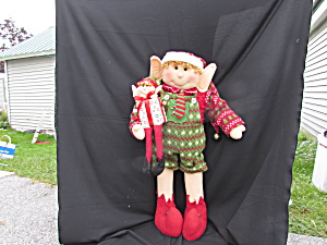 Elf Life Size Plush 38 Inch Tall