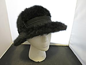 Kangol Fugora Hat Black Angora Blend Size E (Image1)
