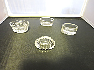 Master Salt Salt Cellar Mixed Lot Of 4