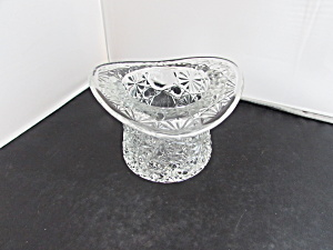 Fenton Daisy And Button Glass Top Hat