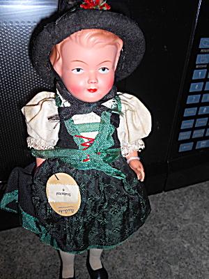 Stubaital Alpine Austria Celluloid Doll  (Image1)