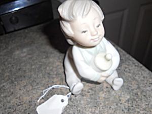 Lladro Baby Figurine with Bottle Diasa 1991 (Image1)